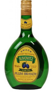 Zwack Brandy Plum Slivovitz Kosher 750ml